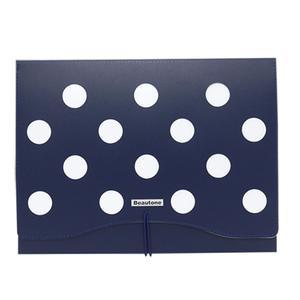 Portafolio A-4 Dot Azul Beautone