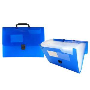 Portafolio Acordeon C/Asa Azul A4 Beautone