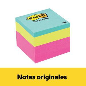 Post It 2 X 2'' Minicubo Neon X 400H