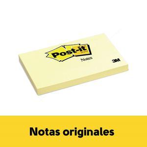 Post It 5X 3''N 655 X 100H Amarillo 3M
