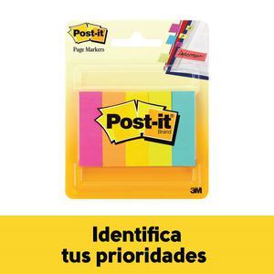 Post It T/Banderita Neon 0.5'' X 2''