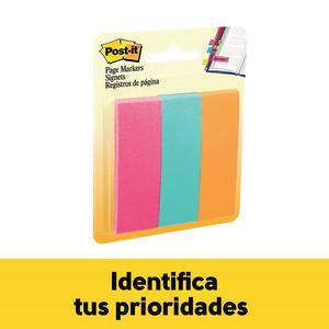 Post It T/Banderita Ultra 1''X3'' 3 Colores