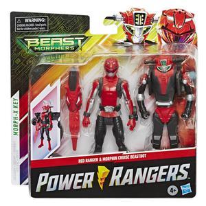 Power Beastbot Pack 15Cm Rojo
