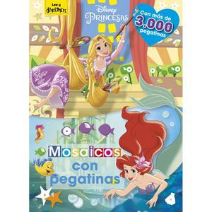 Princesas. Mosaicos Con Pegatinas - Libro De Actividades