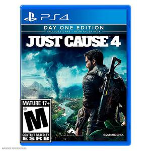 Ps4 Juego Just Cause 4 - Day One Edition