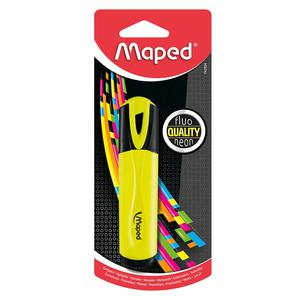 Resaltador Class Fluopeps Amarillo Maped