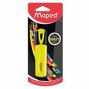 Resaltador Class Fluopeps Amarillo Maped