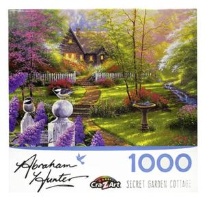 Rompecabezas 1000Pz Abr Hunt Jardin Secreto