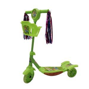 Scooter 3R Luces Y Canasta Verde