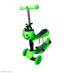 Scooter Kids 3 En 1 3R Verde