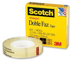 Scotch Doble Faz Con Dispensador