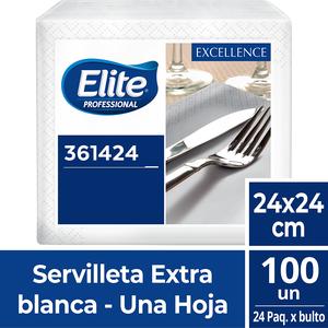 Servilleta Elite Coctel Excellence X 100