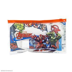 Set Cartuchera + Cepillo + Pasta Dental Avengers