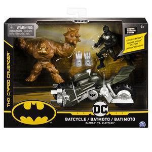 Set Incluye Vehiculo Y Dos Figuras 10Cm Batman