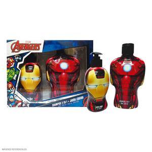 Set Iron Man Shampoo 350 Ml + Jabón Líquida