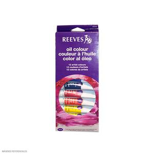 Set Oleo Reeves Caja X 12 Tubos 10Ml