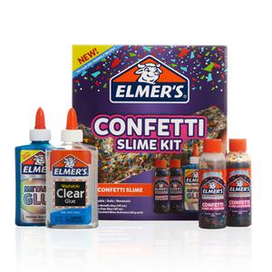 Slime Elmers Confetti Pack 4Pz