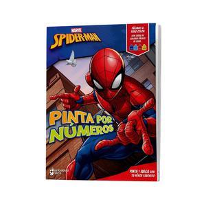 Spider Man Pinta Por Numeros