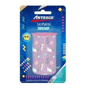 Tajador Plastico Con Deposito Doble Trend