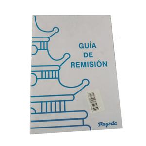 Talon Guia De Remision 50H Plus X 2 Embo