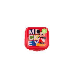 Tapper Hermético 500Ml Mickey Rojo Titanio