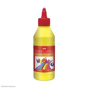 Tempera X 250Ml Neon Amarillo Fab 163907