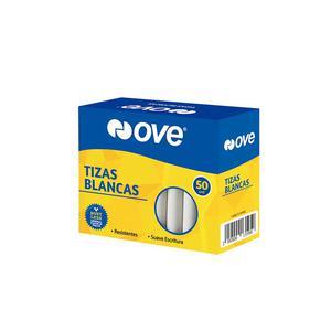 Tiza Blanca Ove (Caja X 50)