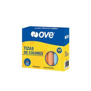 Tiza Colores Ove Caja X 50