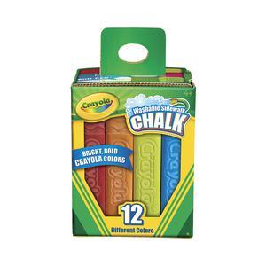Tiza Crayola Jumbo Lavable(Cax12)