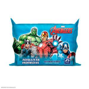 Toallitas Humedas X 25 Und Avengers