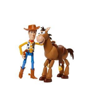 Toy Story Figuras Básicas Woody Y Tiro Al Blanco