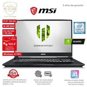 Workstation Msi We75 9Tj