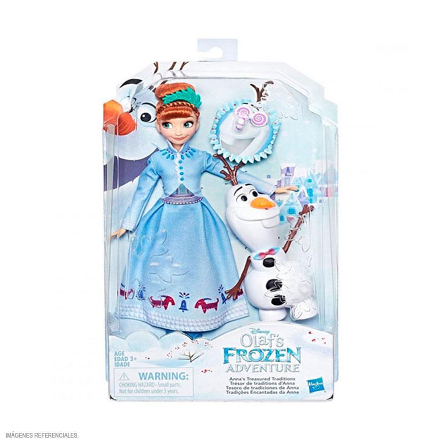 Frozen Otra Aventura Figura Deluxe C3382